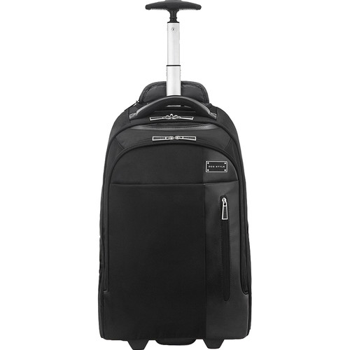 """Evoc Eco-Style Tech Executive Rolling Backpack for 17"""" Laptop (Black)"""
