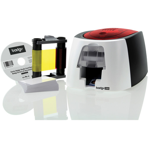 Evolis Badgy Badgy200 Single-Sided Card Printer