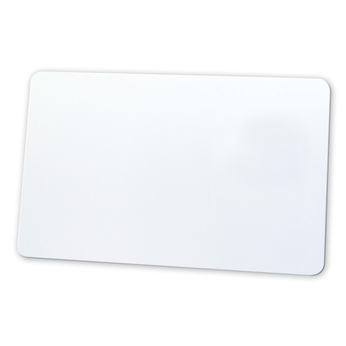 Evolis Blank White Paper Cards (10 mil, 5-Pack of 100 Cards)