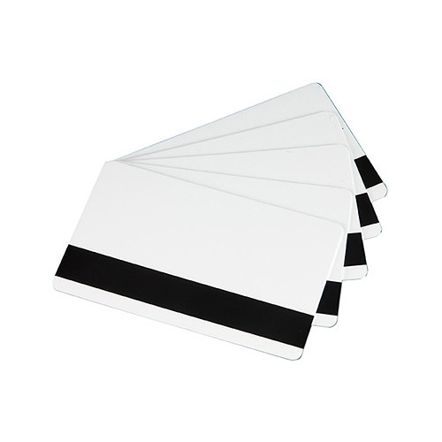 Evolis CR-80 PVC Cards with HiCo Magnetic Stripe (30 mil, 500-Pack)