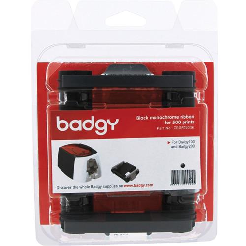 Evolis Black Monochrome Ribbon for Badgy100 & Badgy200 Card Printers