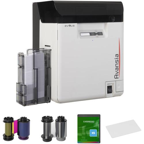 Evolis Avansia Duplex Retransfer Card Printer Kit