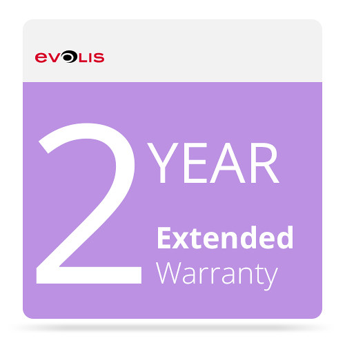 Evolis 2-Year Warranty Extension for Badgy100 & Badgy200 Card Printer