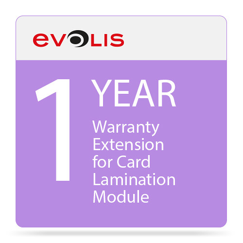 Evolis 1-Year Warranty Extension for Card Lamination Module