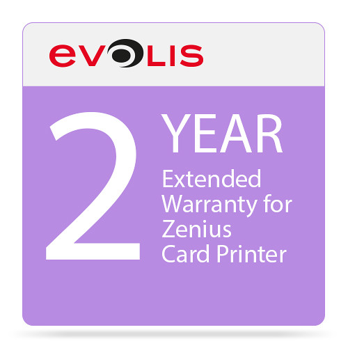 Evolis 2-Year Extended Warranty for Zenius Card Printer