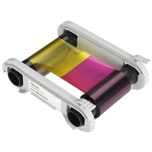 Evolis Easy4Pro 1/2 YMCKO Color Ribbon (400 Prints/Roll)