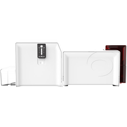 Evolis Primacy Lamination Simplex Expert Printer with GEMPC USB-TR Contact Smartcard (Fire Red)