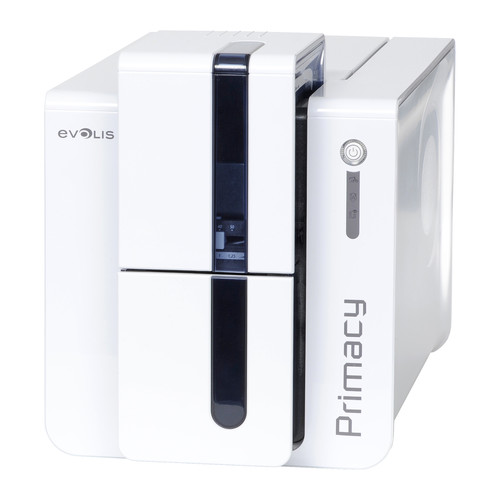 Evolis Primacy Expert Dual-Sided ID Card Printer with Magnetic Stripe Encoding (Brilliant Blue)