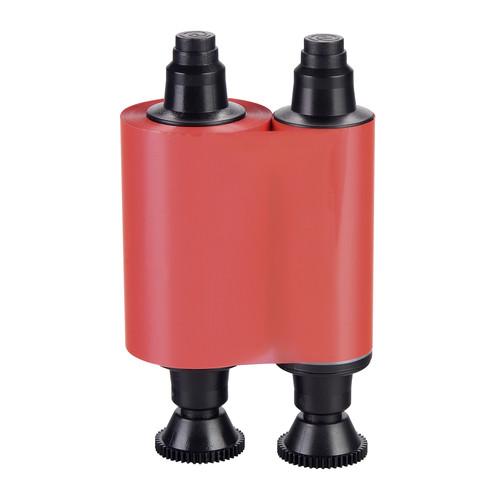 Evolis Standard Monochrome Ribbon for Pebble, Dualys, Quantum & Securion Card Printers (up to 1000 Prints, Red)