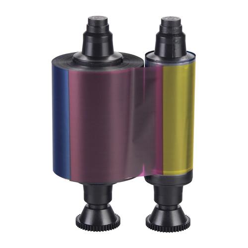Evolis Half-Panel YMCKO Ribbon for Select Printers (up to 400 Prints)