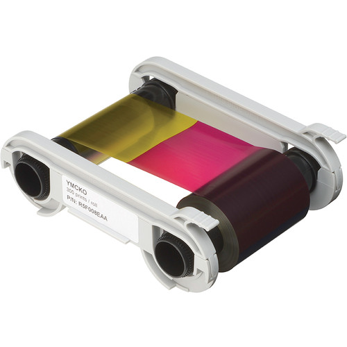 Evolis YMCKO 5-Panel Color Ribbon Cassette for Primacy Printers