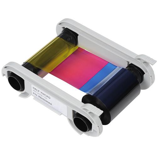 Evolis Half Panel YMCKOKO Ribbon Cassette for Primacy & Elypso Printers (Up to 250 Prints/Roll)