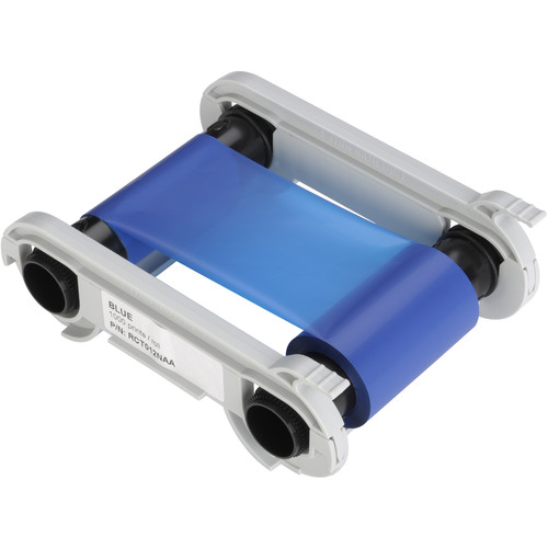 Evolis Blue Monochrome Ribbon (1000 Prints/Roll)