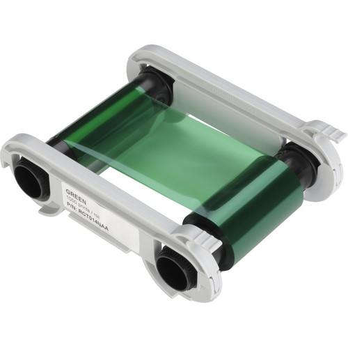Evolis Green Monochrome Ribbon for Select Printers