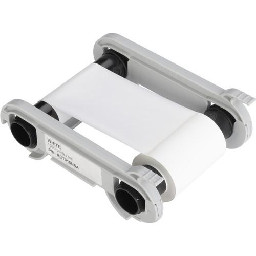 Evolis White Monochrome Ribbon for Select Printers
