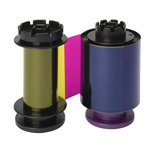 Evolis YMCFK Ribbon for Avansia Printer (Up to 400 Prints/Roll)