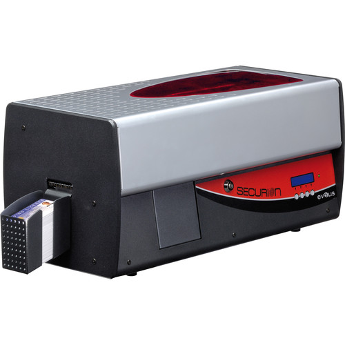 Evolis Securion Dual-Sided Basic Card Printer & Laminator with Ethernet and USB