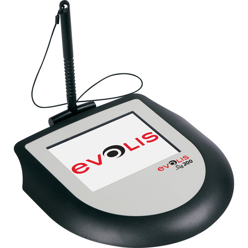 """Evolis Sig200 Signature Capture Pad with Interactive 5"""" LCD"""