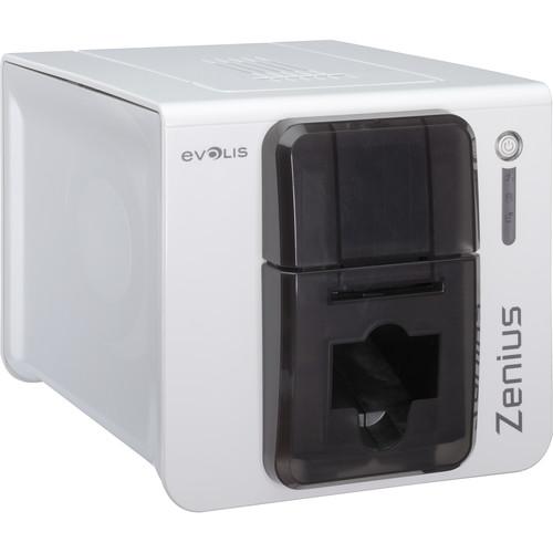Evolis Zenius Expert Single-Sided Card Printer (Grey Brown)