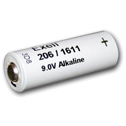 Exell Battery 206A 9V Alkaline Battery (110 mAh)