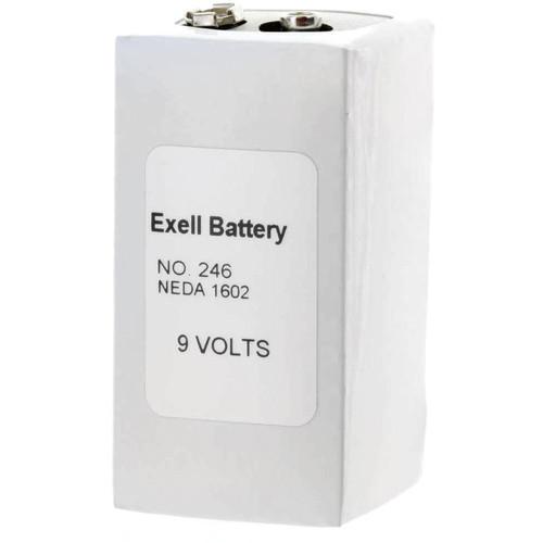 Exell Battery 246 9V Alkaline Battery (500 mAh)