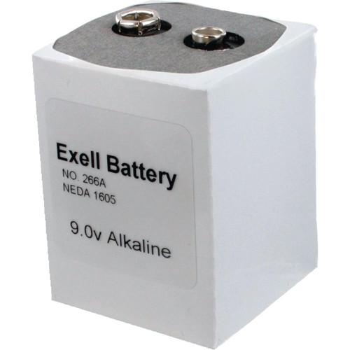 Exell Battery 266 9V Alkaline Battery