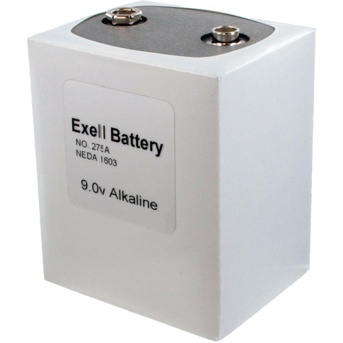 Exell Battery 276 9V Alkaline Battery (4800 mAh)