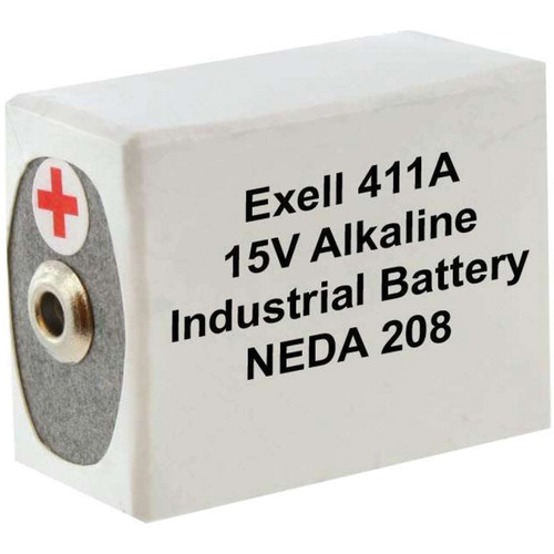 Exell Battery 411A 15V Alkaline Battery (180 mAh)