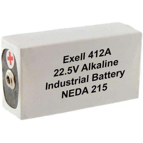 Exell Battery 412A 22.5V Alkaline Battery (180 mAh)