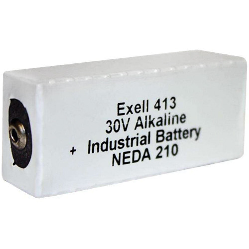 Exell Battery 413A 30V Alkaline Battery (180 mAh)