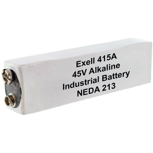 Exell Battery 415A 45V Alkaline Battery (180 mAh)