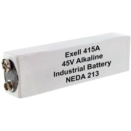 Exell Battery 415A 45V Alkaline Battery (180 mAh)