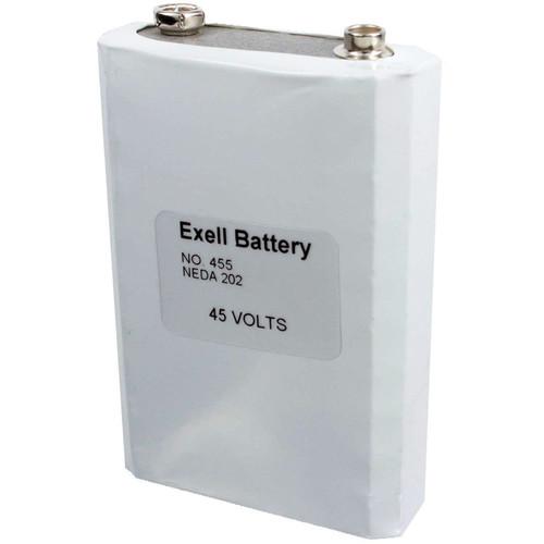 Exell Battery 455 45V Alkaline Battery (550 mAh)