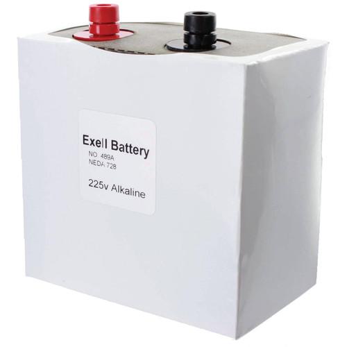 Exell Battery 489A 225V Alkaline Battery (550 mAh)