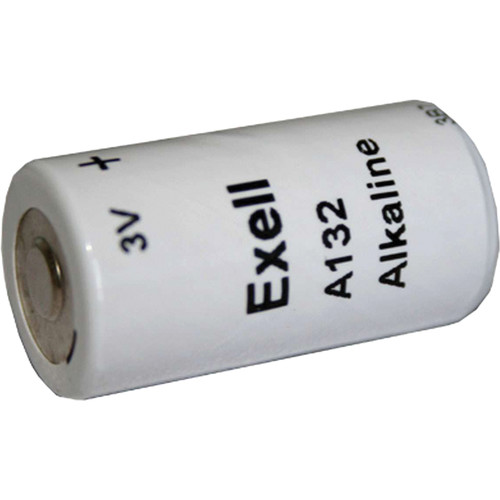 Exell Battery A132 3V Alkaline Battery (600 mAh)
