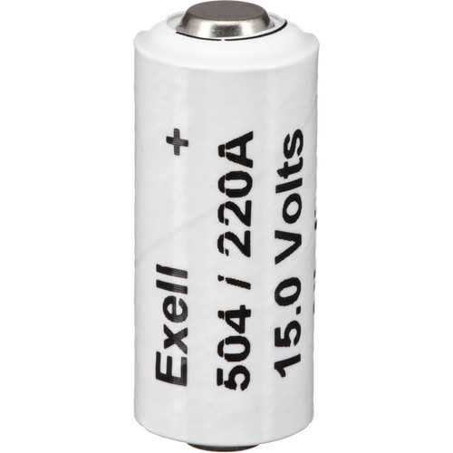 Exell Battery A220/504A Alkaline Battery (15V, 60mAh)