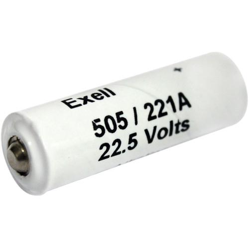 Exell Battery A221/505A 22.5V Alkaline Battery (60 mAh)