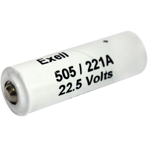 Exell Battery A221/505A 22.5V Alkaline Battery (60 mAh)