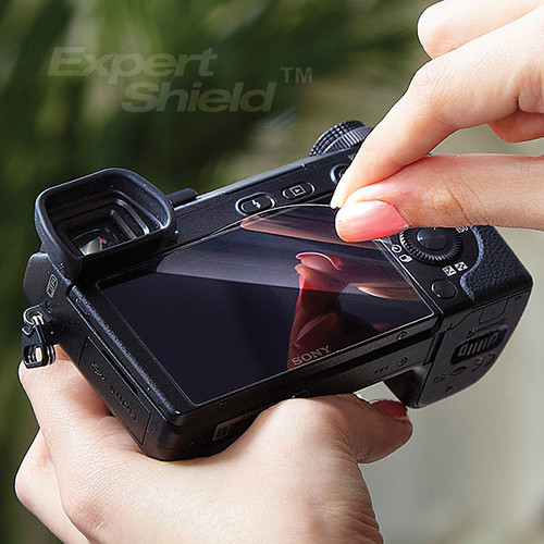 Expert Shield Crystal Clear Screen Protector for Sony Cyber-shot DSC-HX20V, DSC-HX10V or DSC-HX30V Digital Camera