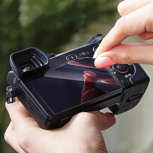 Expert Shield Glass Screenand Top LCD Protectors for Canon 6D Mark II Digital Camera