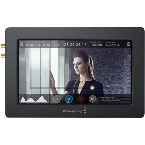 """Expert Shield Crystal Clear Screen Protector for Blackmagic Design Video Assist 5"""" Monitor/Recorder"""