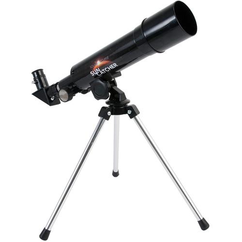 Explore Scientific Sun Catcher 50mm f/7 Refractor White-Light Solar Telescope