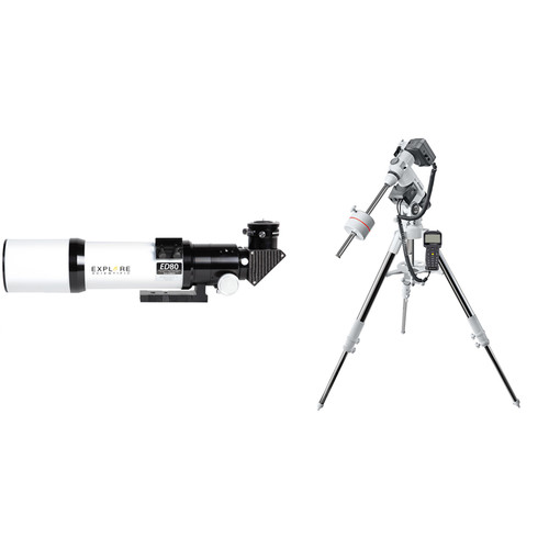 Explore Scientific 80mm f/6 Essential Apochromatic Triplet Refractor Telescope with Exos2GT Mount