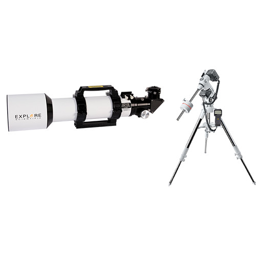 Explore Scientific 102mm f/7 Essential Apochromatic Triplet Refractor Telescope with Exos2GT Mount