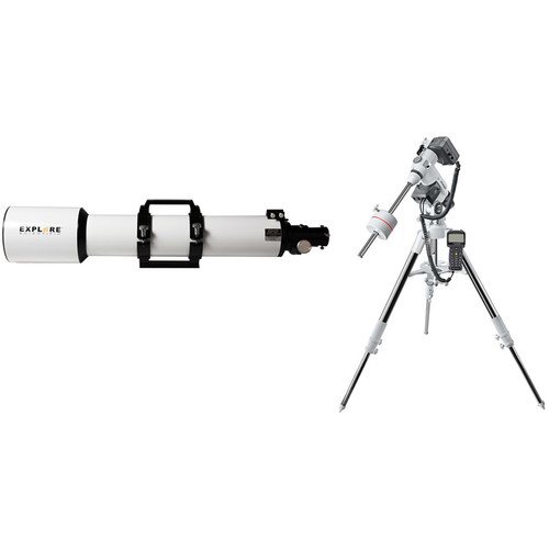 Explore Scientific 127mm f/7.5 Essential Apochromatic Triplet Refractor Telescope with Exos2GT Mount