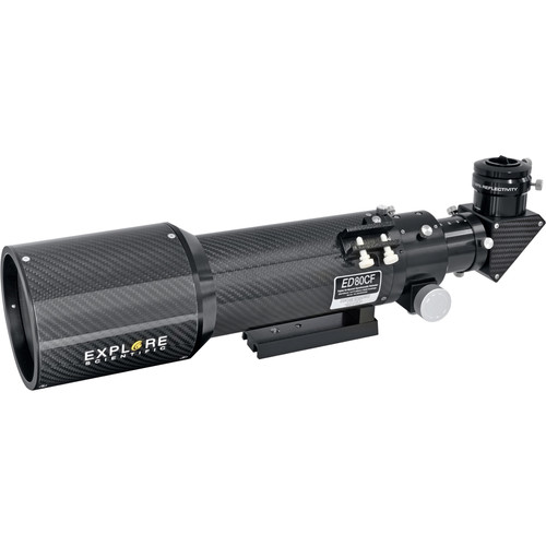 Explore Scientific ED80 80mm f/6 Carbon Fiber APO Refractor Telescope (OTA only)