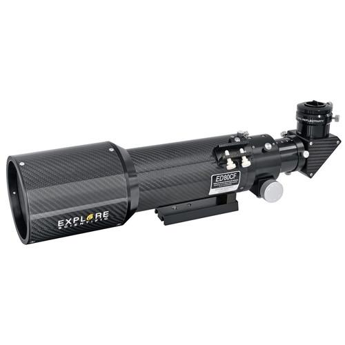 Explore Scientific ED80 80mm f/6 Carbon Fiber Refractor Telescope (OTA only)
