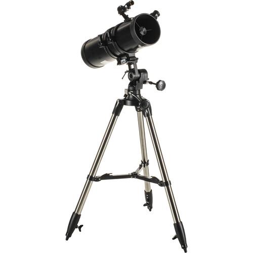 ExploreOne AuroraII 114mm f/4 AZ Telescope (Flat Black)