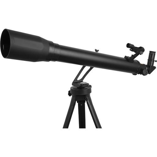 ExploreOne GeminiII 70mm f/10 AZ Telescope (Flat Black)