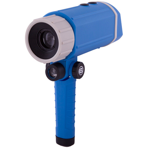 ExploreOne 3x20 Night Vision Monocular Scope (Black Blue)